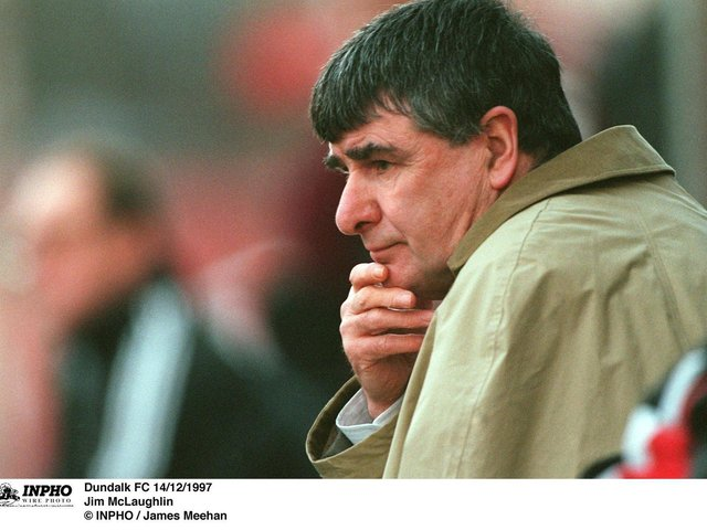 The legendary Jim McLaughlin delivered the historic treble to Derry City in the 1988/89 season.