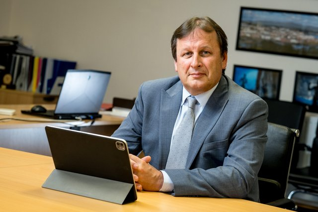 Leo Murphy, Chief Executive and Principal of North West Regional College.