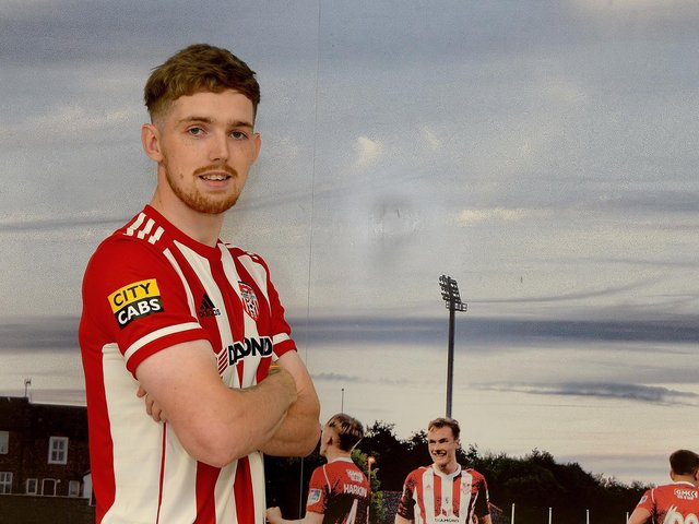 Derry City's new signing Jamie McGonigle. Picture by George Sweeney