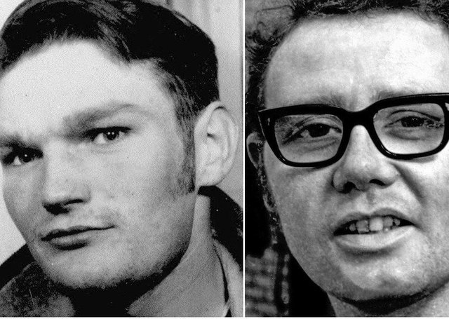 Jim Wray and William McKinney who were killed on Bloody Sunday