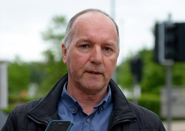 Tony Doherty, chairperson of the Bloody Sunday Trust. DER2124GS – 016