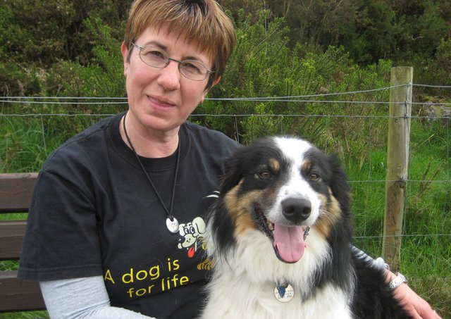 Cathy Clyde, Education and Community Officer based at Dogs Trust Ballymena