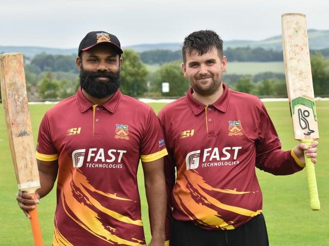 Bready duo Irosh Samarasooriya and Jamie Magee both scored centuries in last week's win over Ardmore. Picture by Lawrence Moore