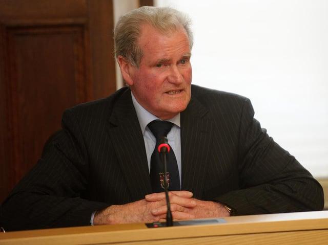 Councillor Ian McGarvey.