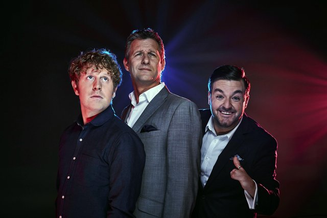 Adam Hills and co-hosted by Josh Widdicombe and Alex Brooker