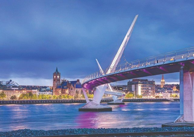 Derry is being promoted as a premium remote working area.