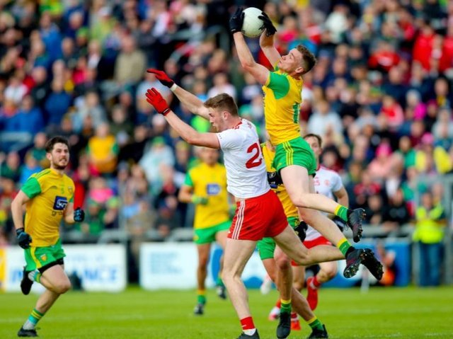 A 'walk-in' vaccine clinic will be held at the Donegal v Tyrone match.