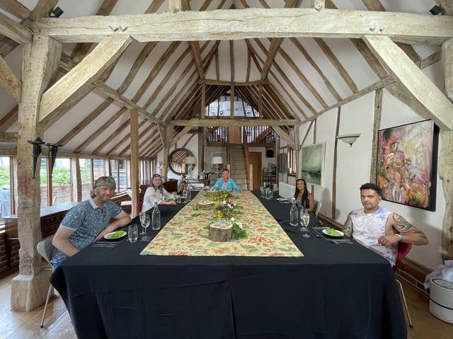 Christopher, Izzy, Mark, Nicole and Adam