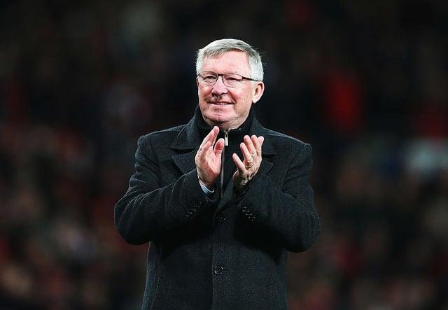 Sir Alex Ferguson.  (Photo by Alex Livesey/Getty Images)